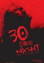 30 Gün Gece izle full hd film